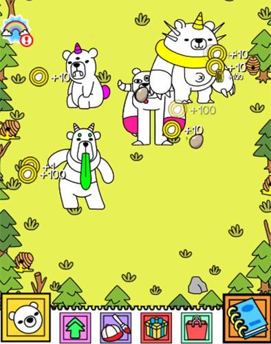 Bear evolution: UnBEARably fun clicker game auf Deutsch