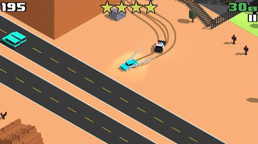 Smashy road: Wanted pour Android
