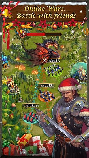 Onlinespiele King's empire für das Smartphone
