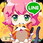Line cat cafe Symbol