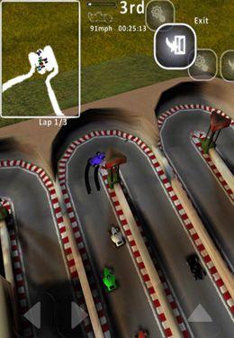 Capture d'écran La Course contre le Mamba Noir sur iPhone