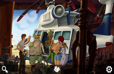 iPhone用ゲーム ランナウェイ: 道路冒険 のスクリーンショット