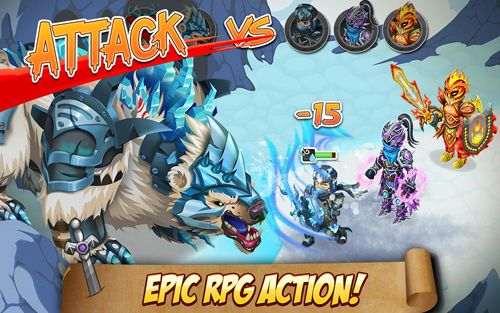RPG: download Knights and dragons to your phone