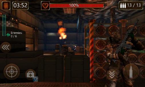 Action Modern commando: Sniper killer. Combat duty für das Smartphone