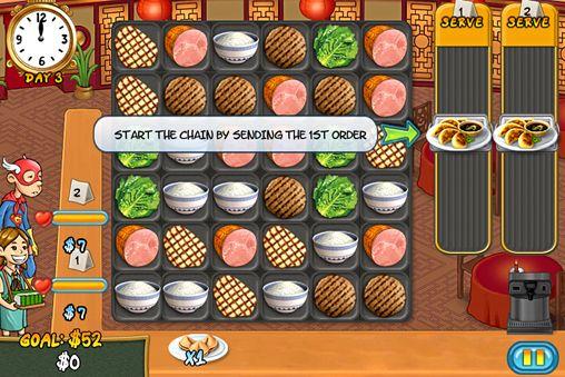 Screenshot Restaurant Rush auf dem iPhone