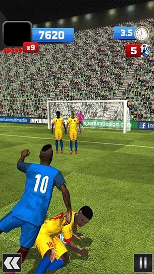 Arcade-Spiele Euro 2016: Soccer flick für das Smartphone