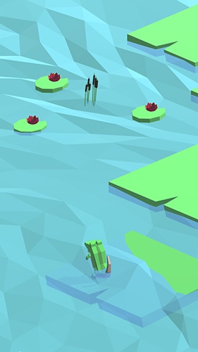 Icy bounce for iPhone