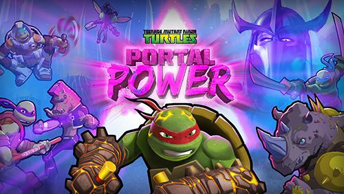 logo TMNT: Portal Power