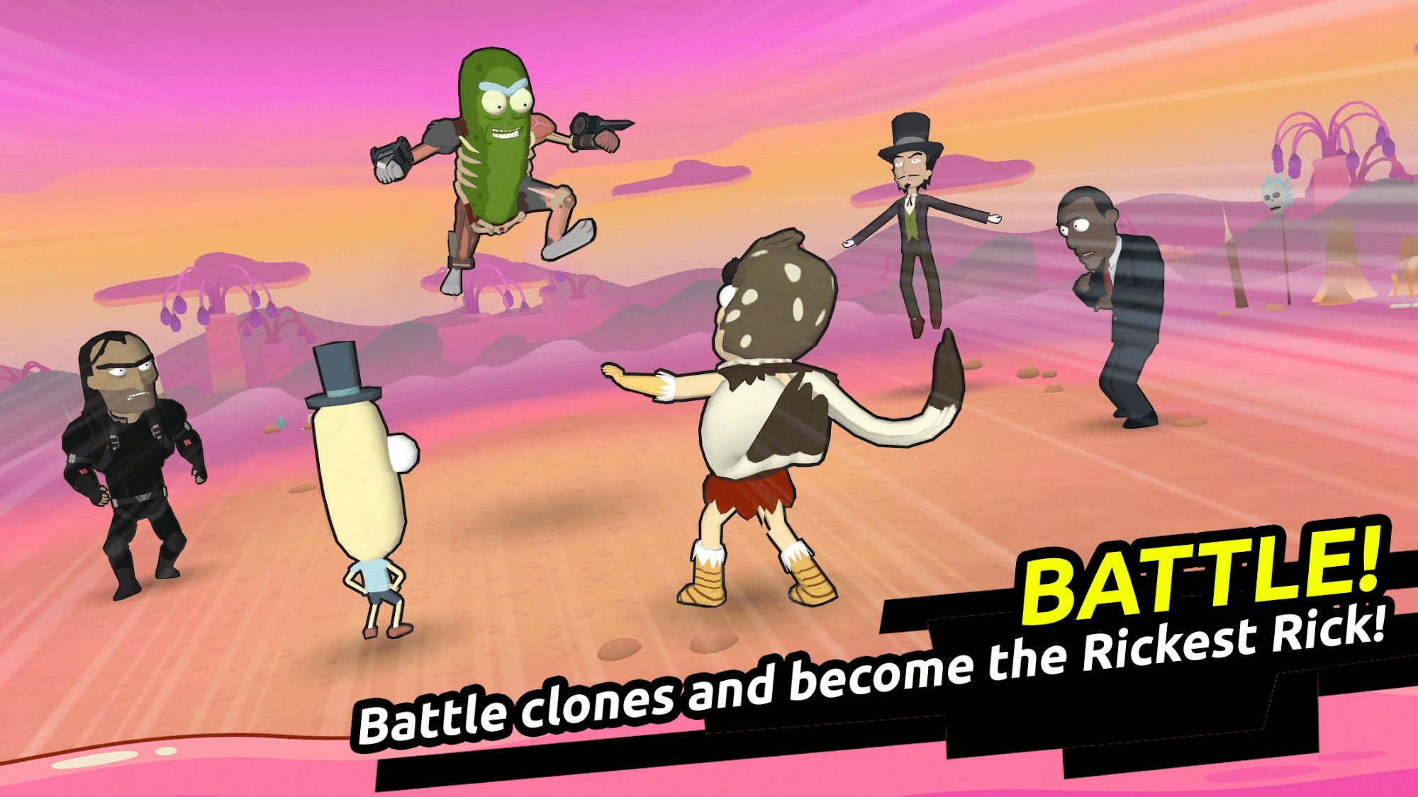 Rick and Morty: Clone Rumble скріншот 1