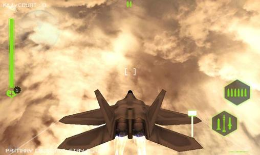 F-22 Raptor strike: Jet fighter screenshot 1
