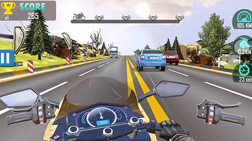 Moto racing: Traffic rider für Android