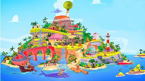 Escape funky island captura de pantalla 1