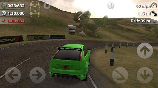 Rush rally 2 pour Android