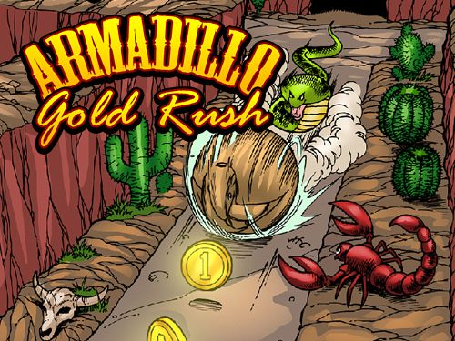 logo Armadillo: Gold rush