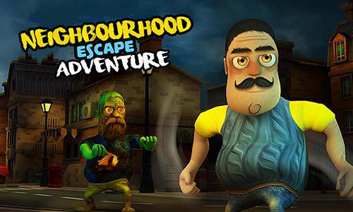 Neighbourhood escape adventure Symbol