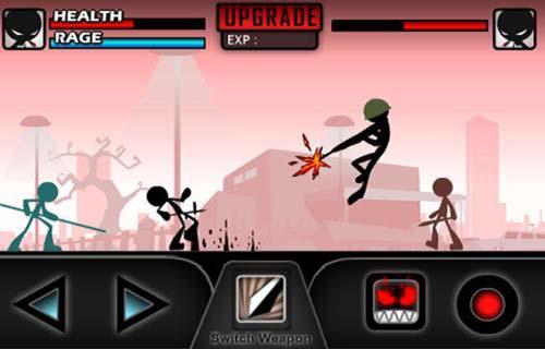Juegos de arcade iKungfu para teléfono inteligente