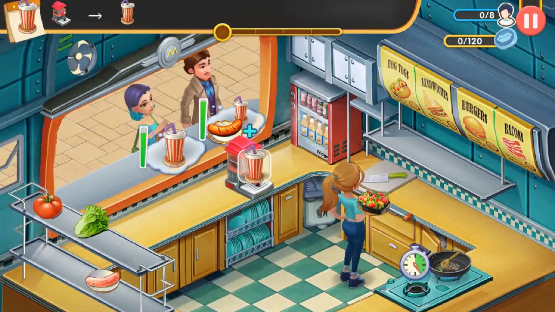 My Restaurant Empire - 3D Decorating Cooking Game для Android