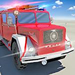 Fire truck simulator 2019 icône