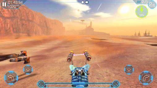 Screenshot Star Wars Journeys: Die dunkle Bedrohung auf dem iPhone