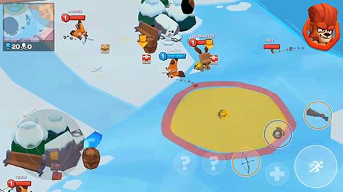 Бродилки (Action): скачать Zooba: Zoo battle arenaна телефон