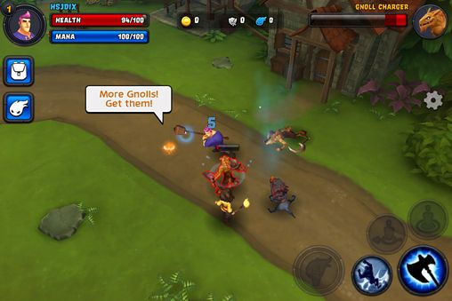 Action games: download Spirit storm на iPhone