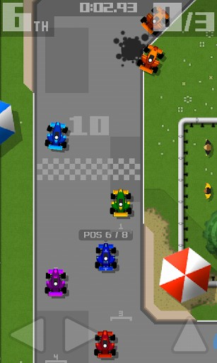 Retro racing: Premium Screenshot