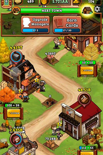 Idle frontier: Tap town tycoon for Android