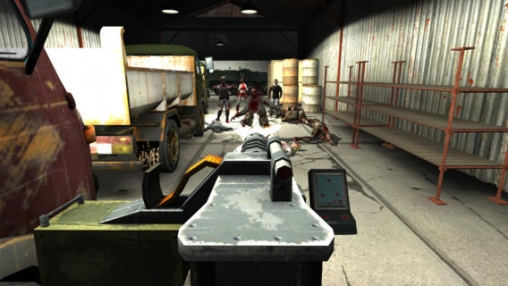 Screenshot The Dead Town on iPhone