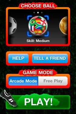Simuladores: faça o download de Chute a bola para o seu telefone