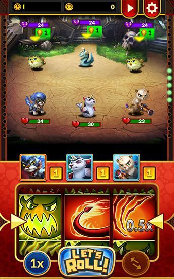 Arcade Monster roller für das Smartphone