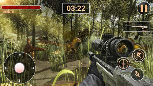 Safari deadly dinosaur hunter free game 2018 screenshot 1