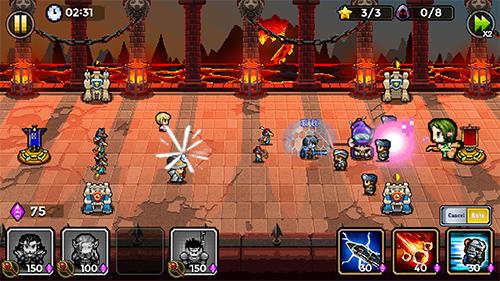 Warrior saga: No.1 free pixel MMORPG in 2018 für Android