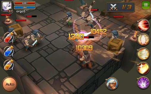 Action RPG games Darklord tales in English
