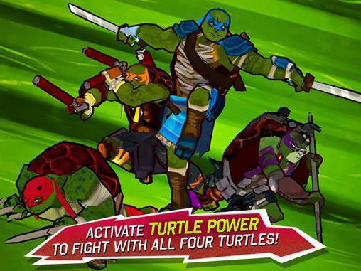 Teenage mutant ninja turtles: Brothers unite Screenshot