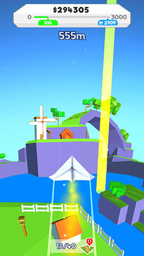 Paper plane planet screenshot 3