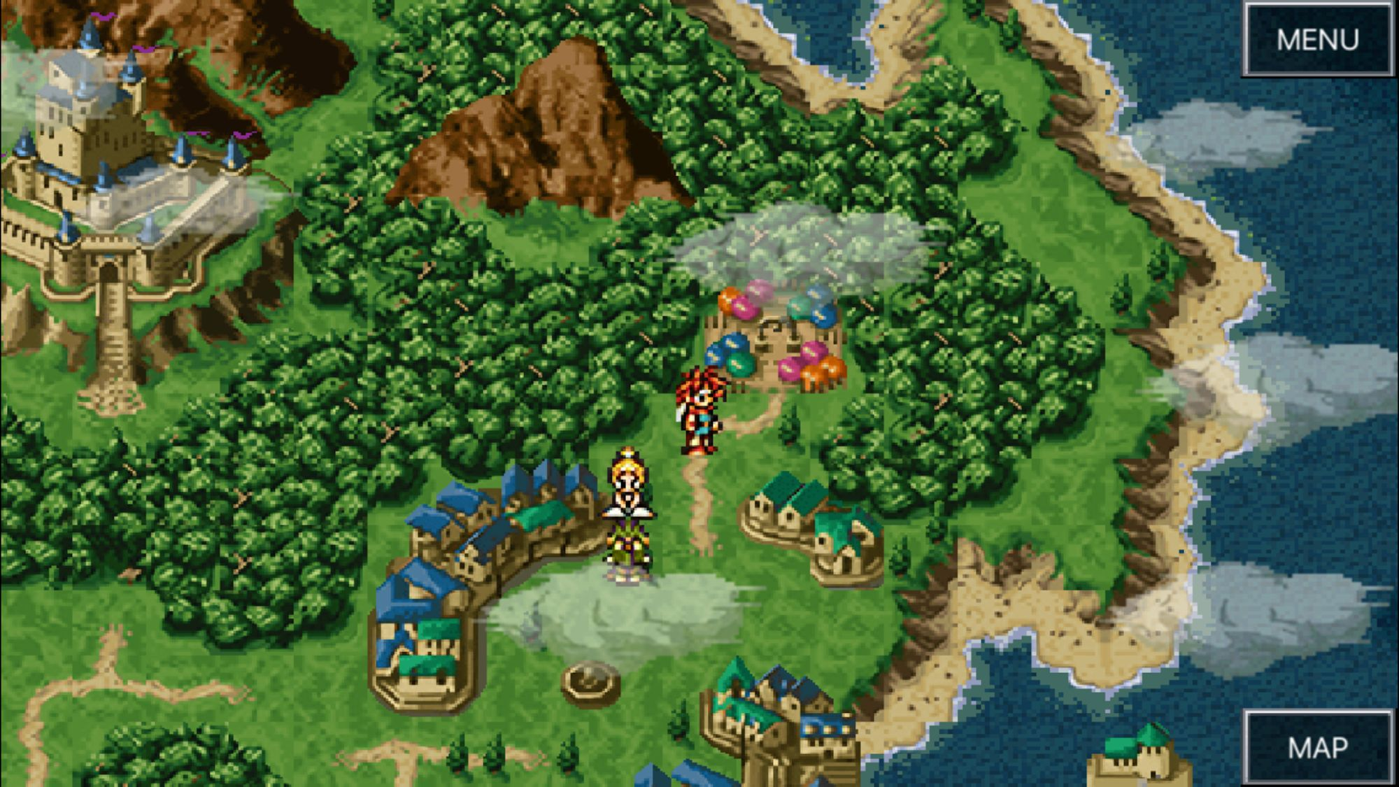 CHRONO TRIGGER (Upgrade Ver.) captura de pantalla 1
