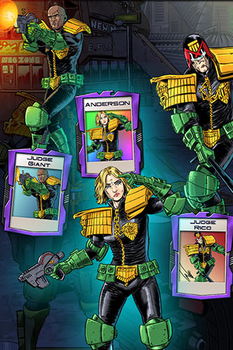 Judge Dredd: Crime files für Android