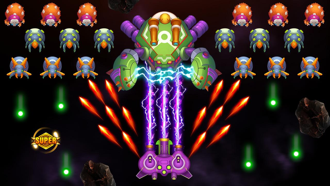 Galaxy Invader: Infinite Shooting 2020 screenshot 1