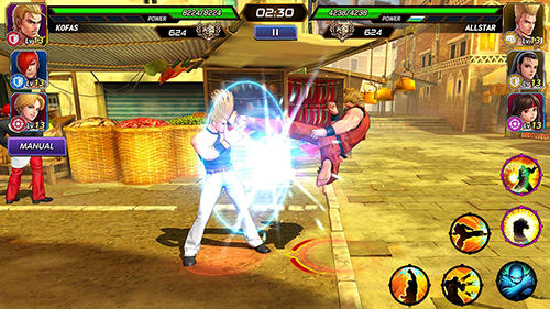 Action The king of fighters: Allstar for smartphone