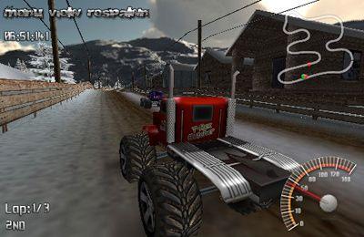 Screenshot MonsterTruck Rally auf dem iPhone