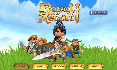 Arcade-Spiele Royal Revolt! für das Smartphone