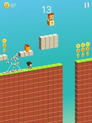 Arcade-Spiele Jumpy für das Smartphone