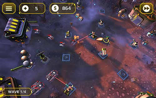 Tower defense generals for iOS devices
