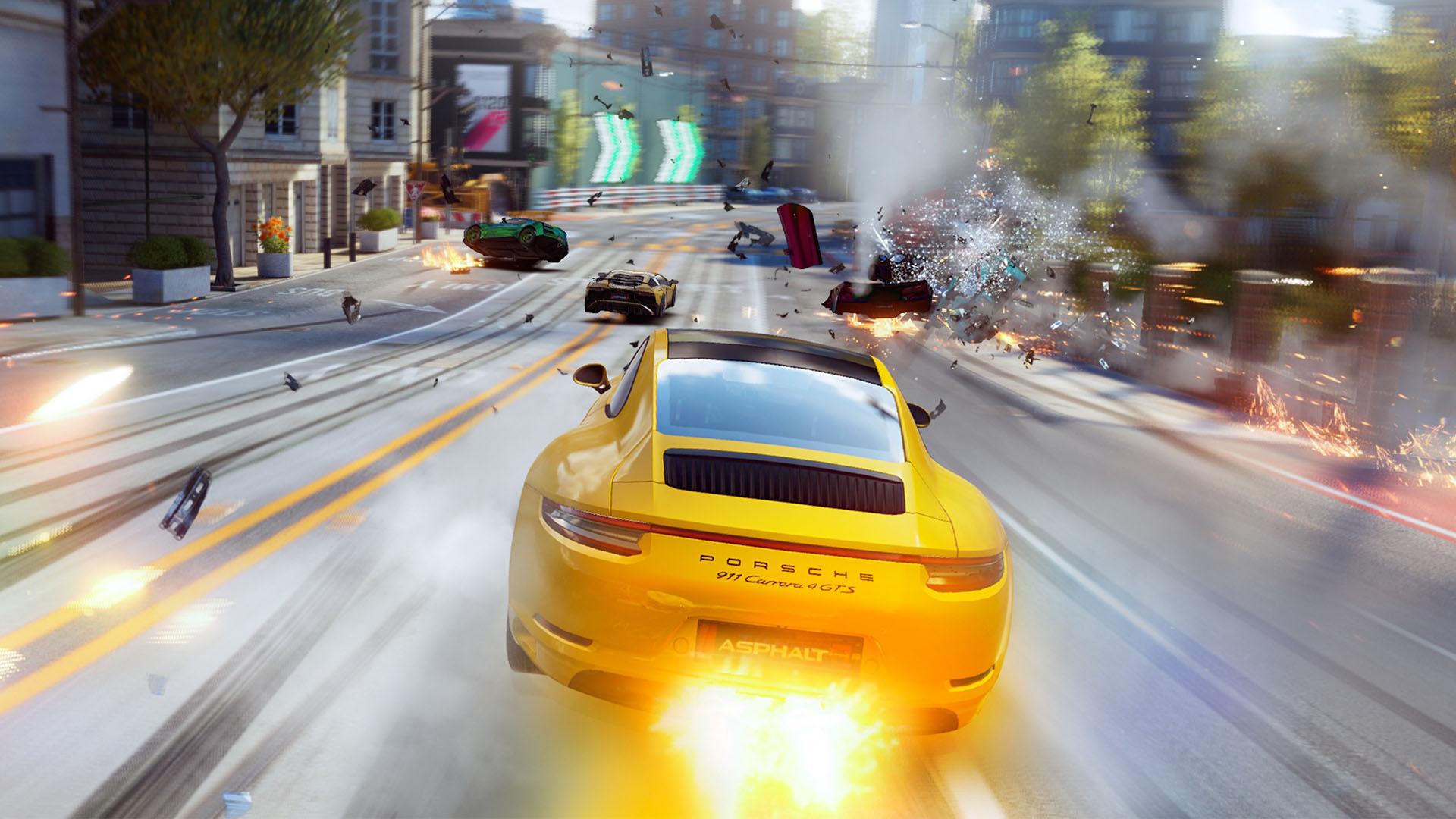 Jeux à la d'asphalte pour Android