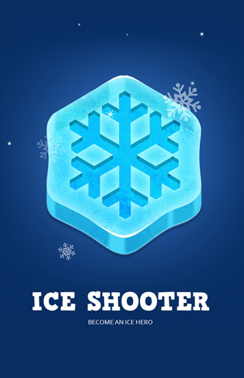 Ice shooter icon