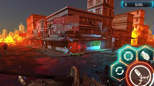 Action Zombie reaper 3 für das Smartphone