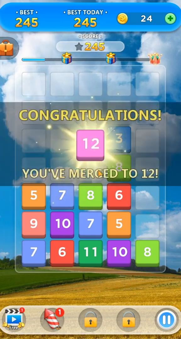 Merge Number Puzzle para Android