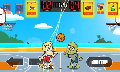 Big head basketball für Android