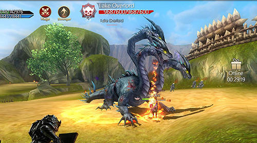 MMORPG Rise of Nowlin in English