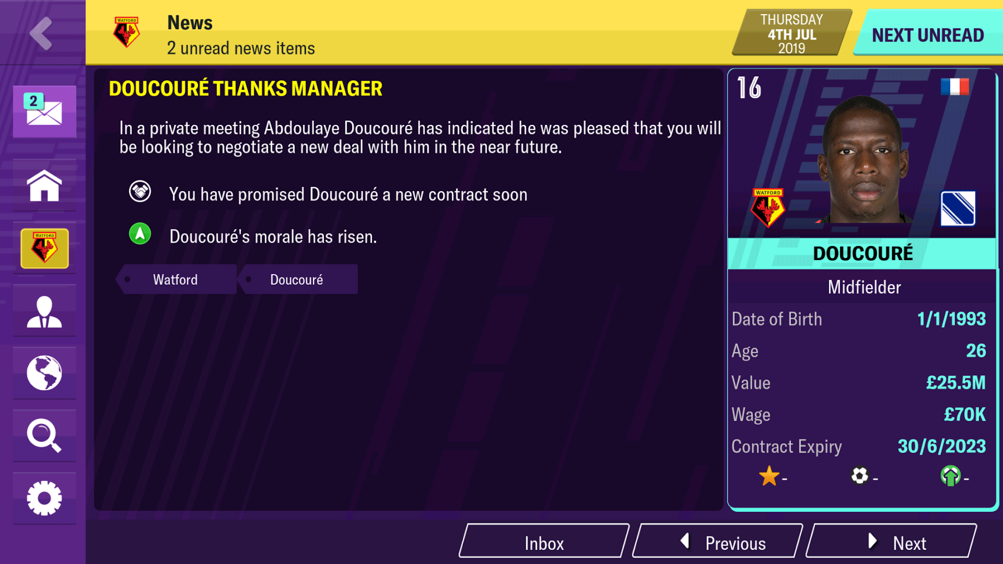 Football Manager 2020 Mobile скриншот 1